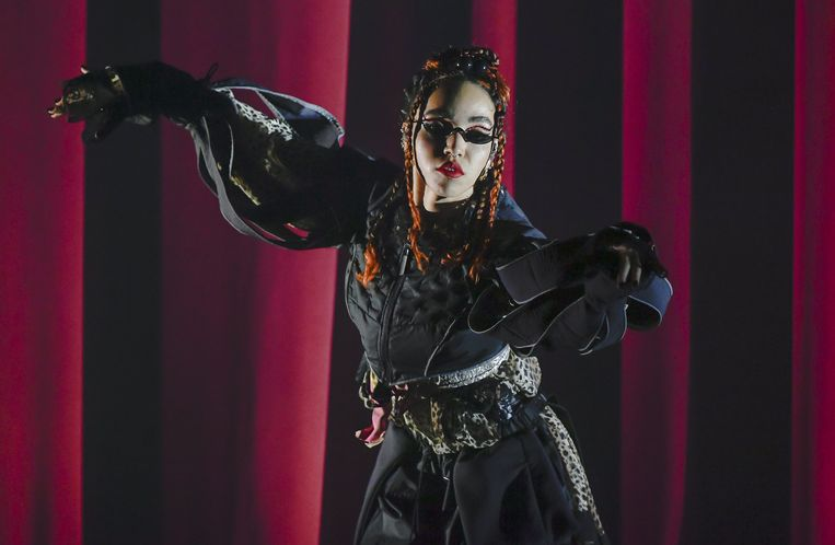 FKA Twigs in The Fox Theater in Oakland, California, 6 november, 2019. Beeld AFP