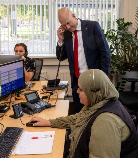 Defensieleider is voor even burgemeester van Gilze en Rijen: 'We moeten vaker van elkaar leren'