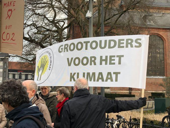 Ook grootouders betoogden al mee voor het klimaat (hier op archiefbeeld uit Turnhout in februari van dit jaar).
