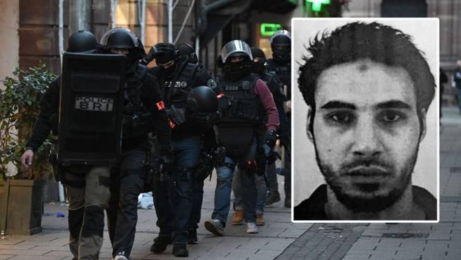 Dader schietpartij Straatsburg nog steeds op de vlucht: 720 agenten opgetrommeld, grenscontroles verscherpt