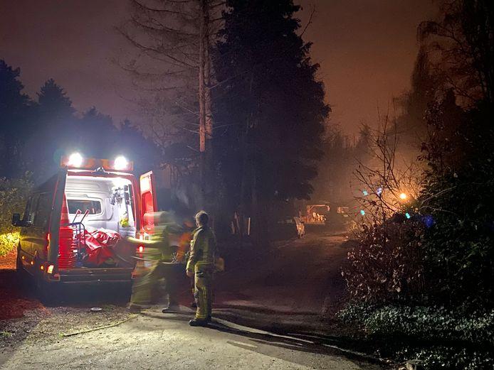 De hulpdiensten kwamen te laat in Zandhoven. De 28-jarige man overleefde het vuurwerkincident niet.