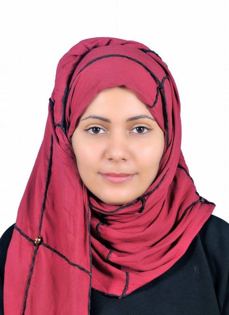Nisma Mansour weigert volledig in het zwart gesluierd te gaan. Beeld Nisma Mansour