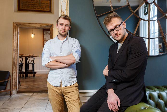 Dennis Alink (rechts) is een Tukker op zijn eigen manier.