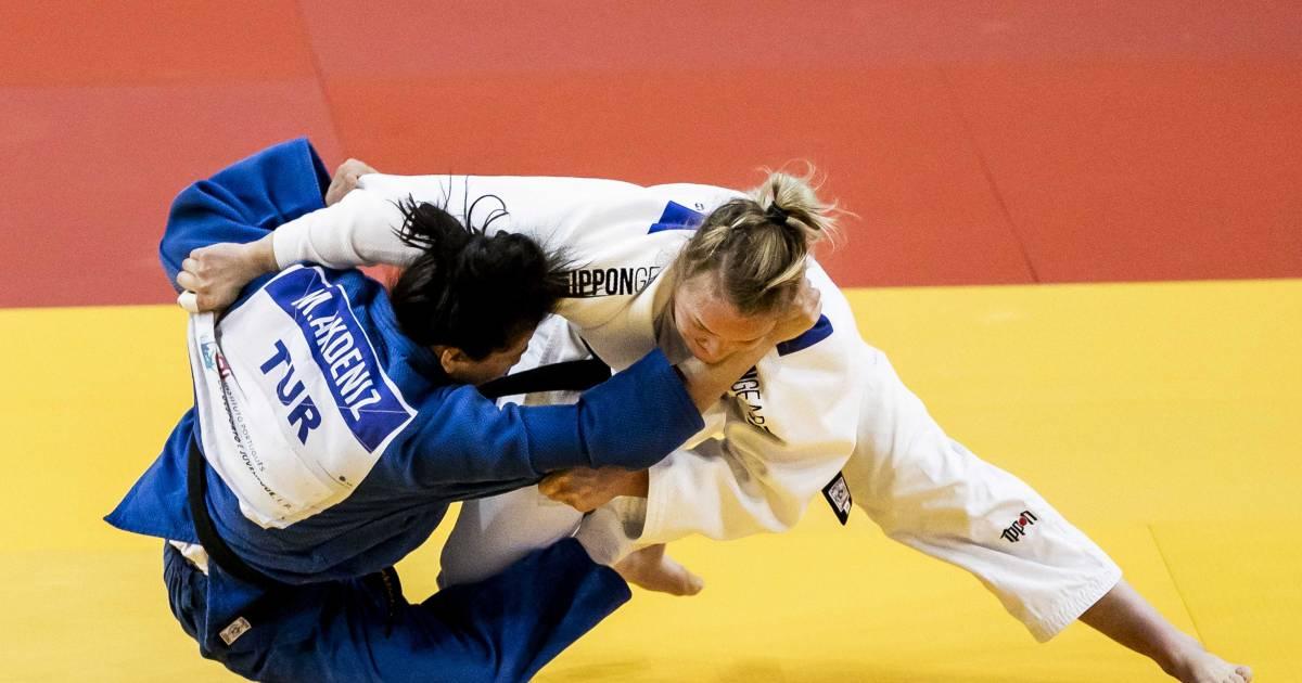 Van Dijke naar finale EK judo, Polling verwezen naar strijd om brons