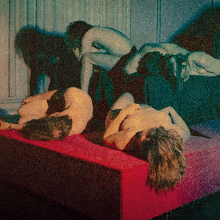 Artwork van Whispering Sons' debuutplaat 'Image' Beeld Flor Maesen