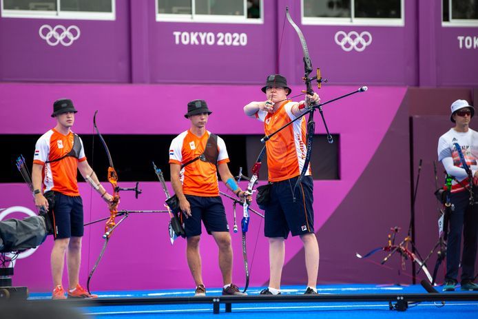 Gijs Broeksma, Steve Wijler en Sjef van den Berg.