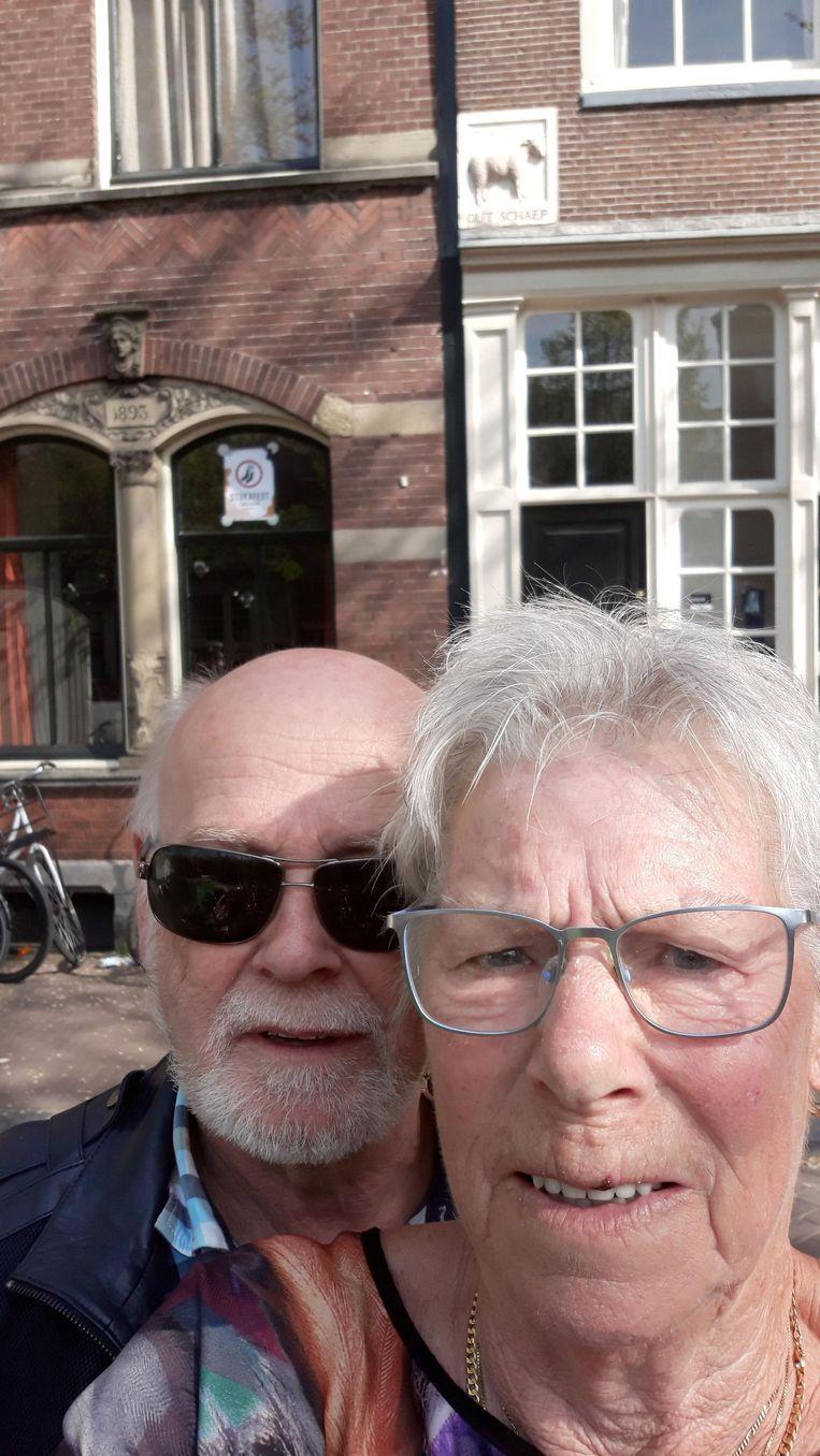 Dick Gabel en Reyka Kroon. Beeld -