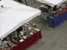 Het mag weer, rommelmarkt in en bij de kerk in Gorssel