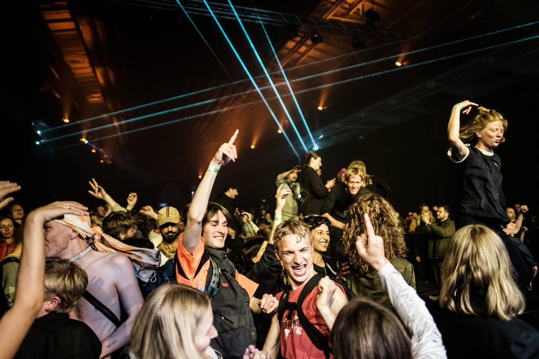 Een nachtclub in Kopenhagen Beeld PYMCA/Universal Images Group via