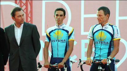 """Contador laat zich uit over 'oorlog' met ploegmaat Armstrong in Tour van 2009: """"Lance zei tegen mij: 'Don't fuck with me'"""""""