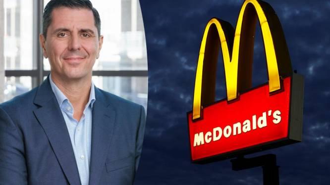Opgegroeid in de keuken, nu krijgt hij er topfunctie: Belg moet bezoeker McDonald's goed gevoel geven