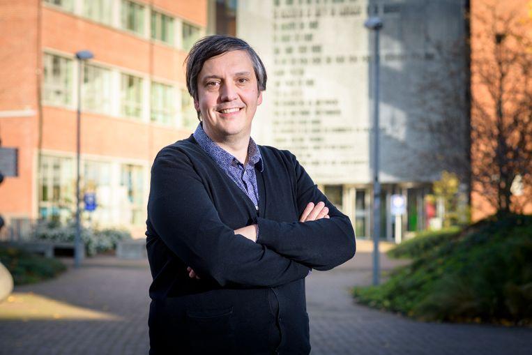 Koen Hermans van het Centrum voor Zorgonderzoek en Consultancy. Beeld rv/Lander Loeckx