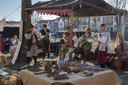 Tsjechische muzikanten op 1 april in Brielle.
