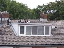 Politie haalt woninginbrekers uit de kast en van het dak