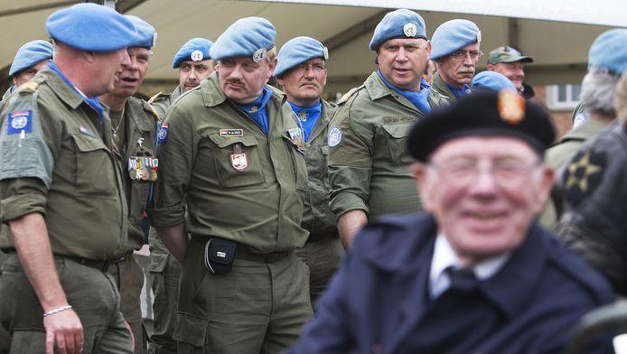 Veteranen op Bevrijdingsdag in Wageningen in 2009.