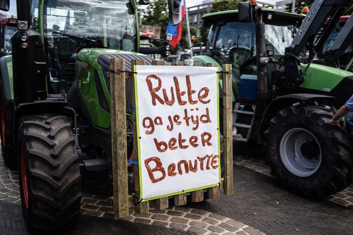 Van deze boer mag 'Rutte zijn tijd beter gaan benutte'.