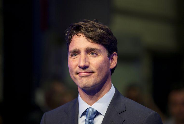 De Canadese premier Justin Trudeau