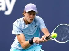 Sinner (19) in voetsporen Agassi, Nadal en Djokovic