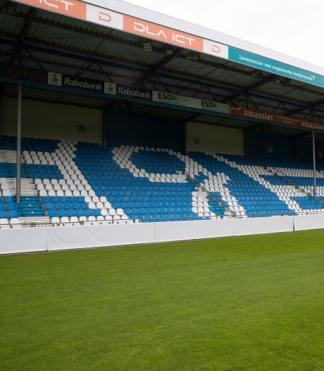 Graafschapfan zit komend seizoen op blauw of wit stoeltje in plaats van een grijze