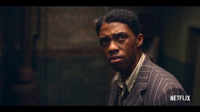 Chadwick Boseman in 'Ma Rainey's Black Bottom'. Beeld BSRagency BACKGRID