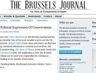 Veiligheidsdiensten willen link tussen Brussels Journal en Breivik onderzoeken