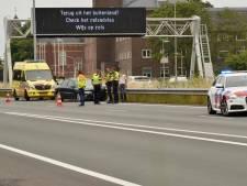 Bestuurder gewond na aanrijding op de A58 bij Etten-Leur