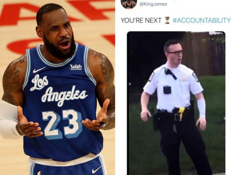 """""""Tu es le prochain"""" : un tweet de LeBron James déclenche la polémique"""