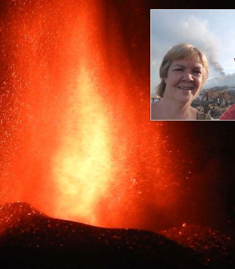 Stel uit Deventer zit eersterangs bij vulkaan op La Palma, 'even geen toeristische dingen doen'