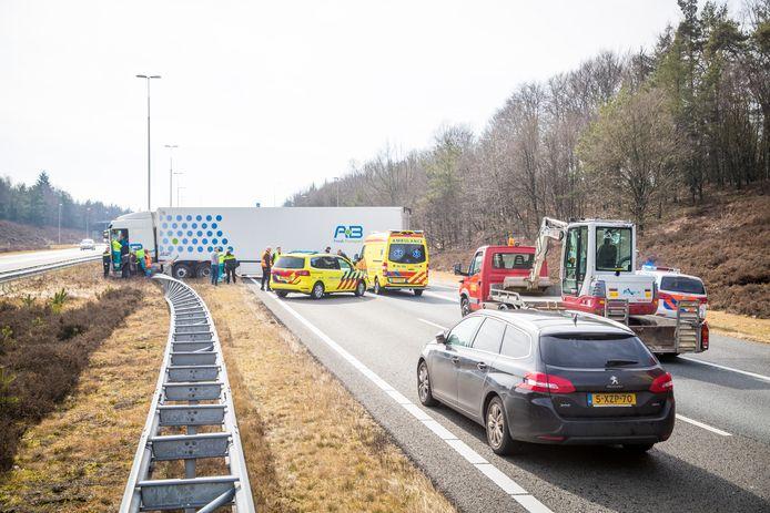 Het ongeluk vond plaats tussen Hattem en Heerde.