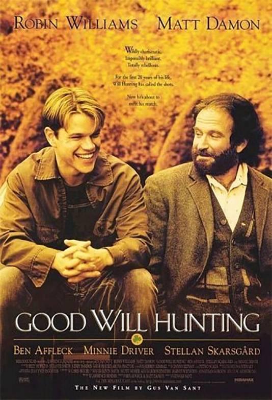 Poster van de film Good Will Hunting.