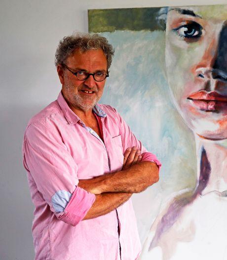 Kunstschilder Frans van den Berg geniet volop van late roeping: 'Een huis zonder kunst is zielloos'