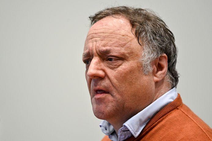 Viroloog Marc Van Ranst woensdag in een hoorzitting in de bijzondere Covid-commissie van de Kamer.