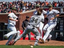 Honkballers op de vuist in Major League