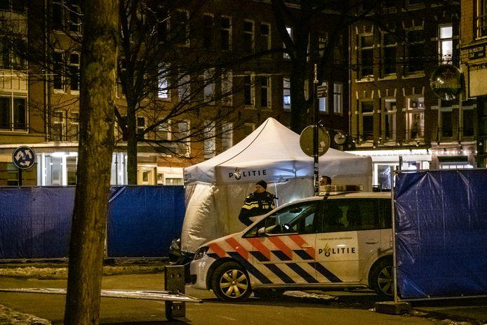 De 29-jarige Roudile Paquay kwam zondagavond 14 februari dit jaar om het leven bij een schietincident op het Van Limburg Stirumplein in Amsterdam-West.