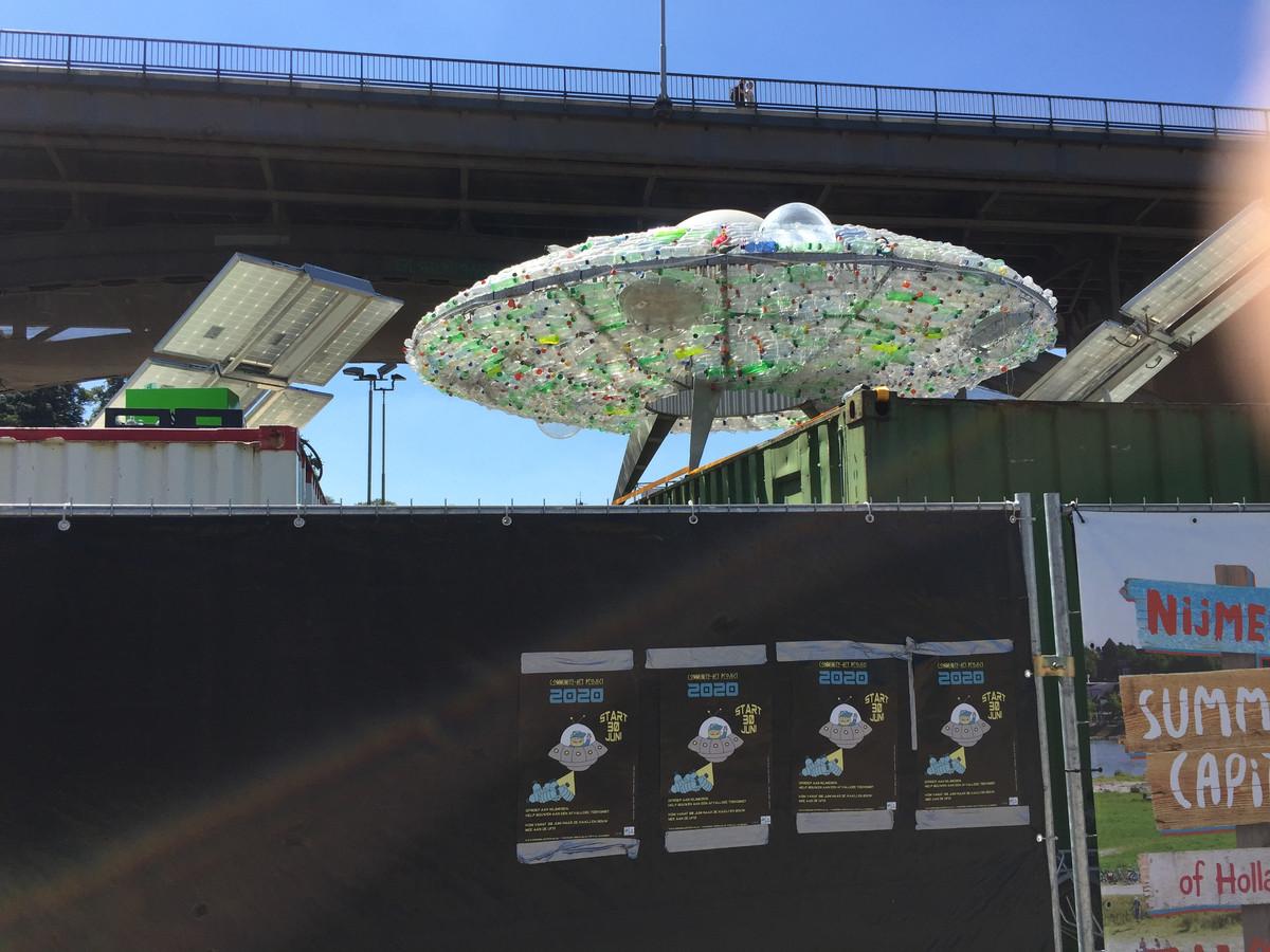 De ufo is opgestegen bij De Kaaij.