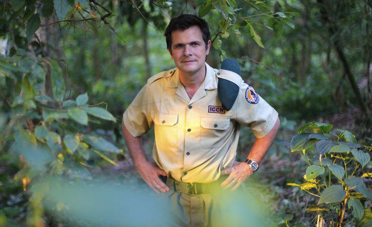 De Belgische parkdirecteur Emmanuel de Merode. De echte held van het park.
