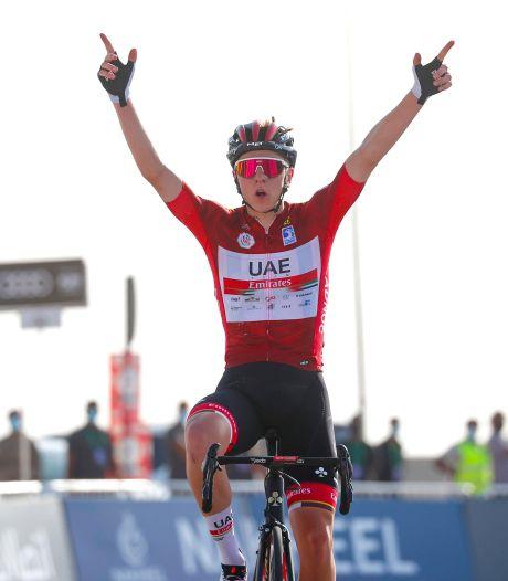 UAE Tour: première victoire de la saison pour Tadej Pogacar