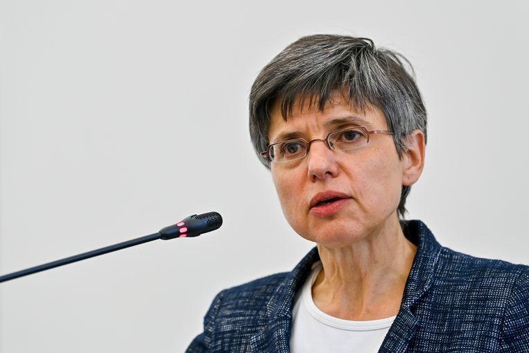 Gouverneur Cathy Berx. Beeld BELGA