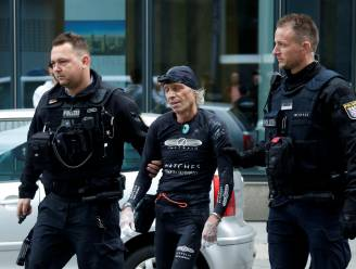 Franse 'Spiderman' aangehouden in Frankfurt na beklimming wolkenkrabber