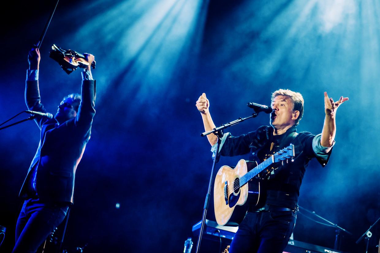 'Het is ongelofelijk zalig om naar een concert te kunnen vertrekken zonder je te moeten afvragen: wie heeft er gesnoven? Wie heeft er gezopen? Ook wat mezelf betreft.' (Foto: op de Lokerse Feesten.) Beeld Geert Van de Velde