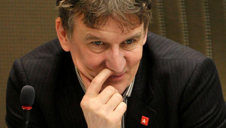 De Antwerpse burgemeester Patrick Janssens kreeg zijn zin, maar zit wel met een financieringsprobleem. Beeld UNKNOWN