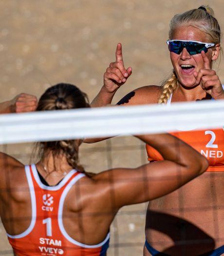 Werkendamse Raïsa Schoon (19) flikt het! Beachvolleybalster naar de Olympische Spelen