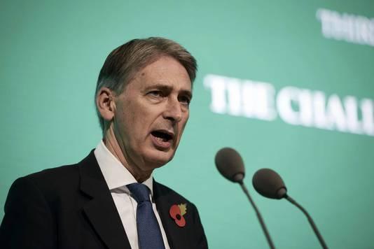 Minister Philip Hammond van Buitenlandse Zaken.
