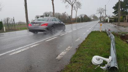 Even geen boetes op   Oostendesteenweg: beschonken bestuurder ramt ANPR-camera