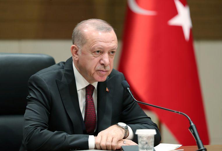 Turks president Erdogan. Beeld via REUTERS