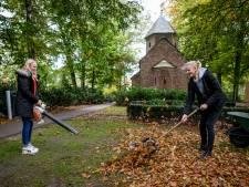 Scholieren doen hun stage buiten in Borne: 'Tuinieren is best leuk'