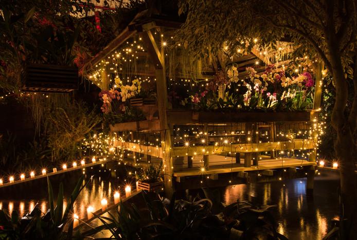 De Orchideeën Hoeve houdt dit jaar elf kaarsjesavonden, met een beperkt aantal tickets