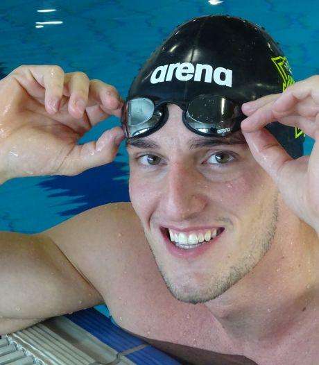 Papendrechtse zwemmer Thomas Verhoeven aast op EK: 'De strijd tegen je eigen tijd, dat is echt mijn drive'