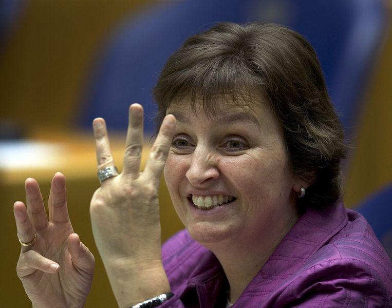 Liesbeth Spies in 2007 als Tweede Kamerlid. © ANP Beeld