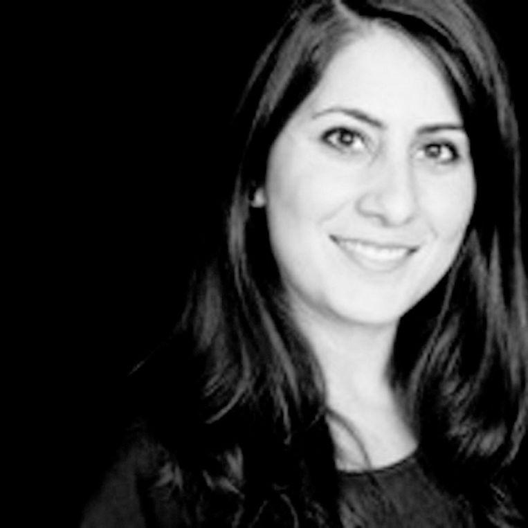 Bahareh Goodarzi Verloskundige, docent en promovenda Midwifery Science, Amsterdam UMC (schrijft op persoonlijke titel). Beeld Screenshot